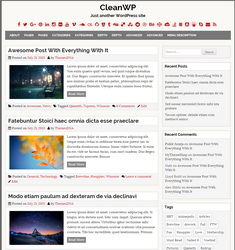 CleanWP WordPress Theme