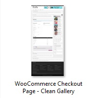 WooCommerce Checkout Page - Clean Gallery