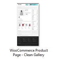 WooCommerce Product Page - Clean Gallery